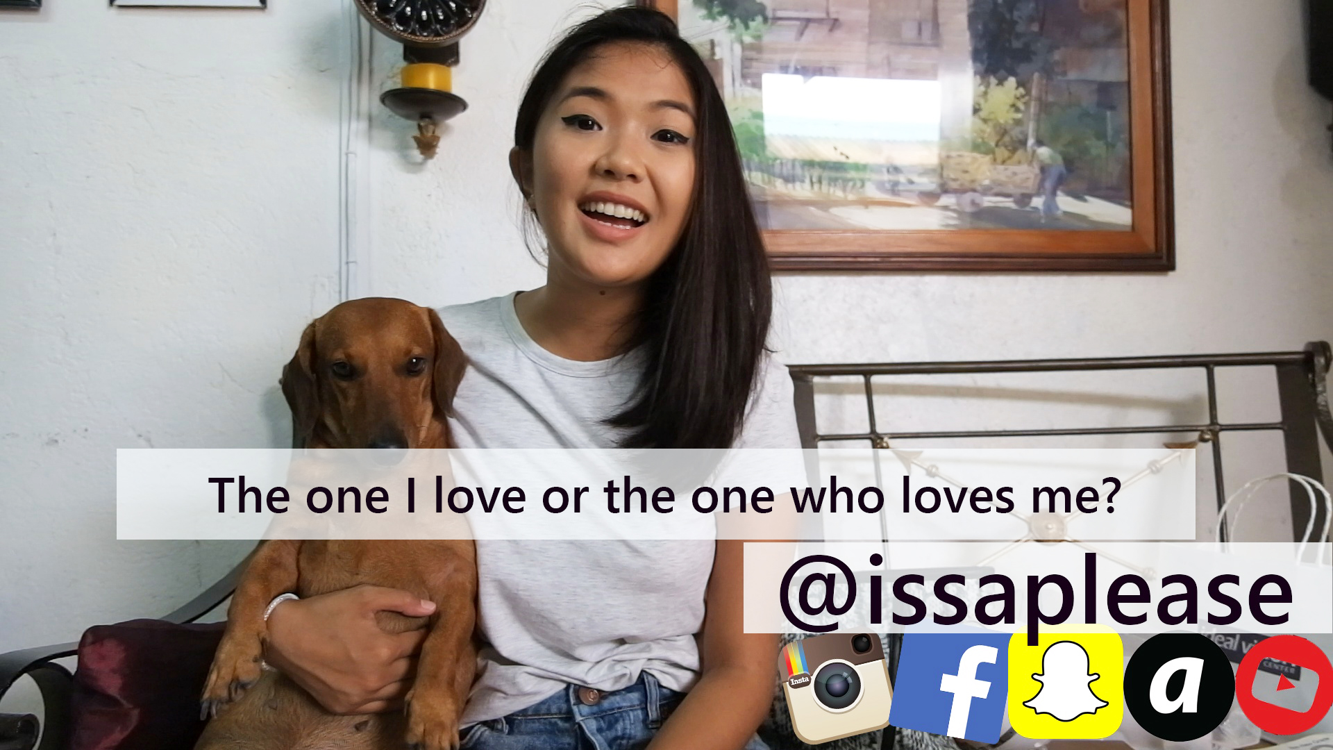 [Vlog] Serious Sundays: The One I Love or The One Who Loves Me?