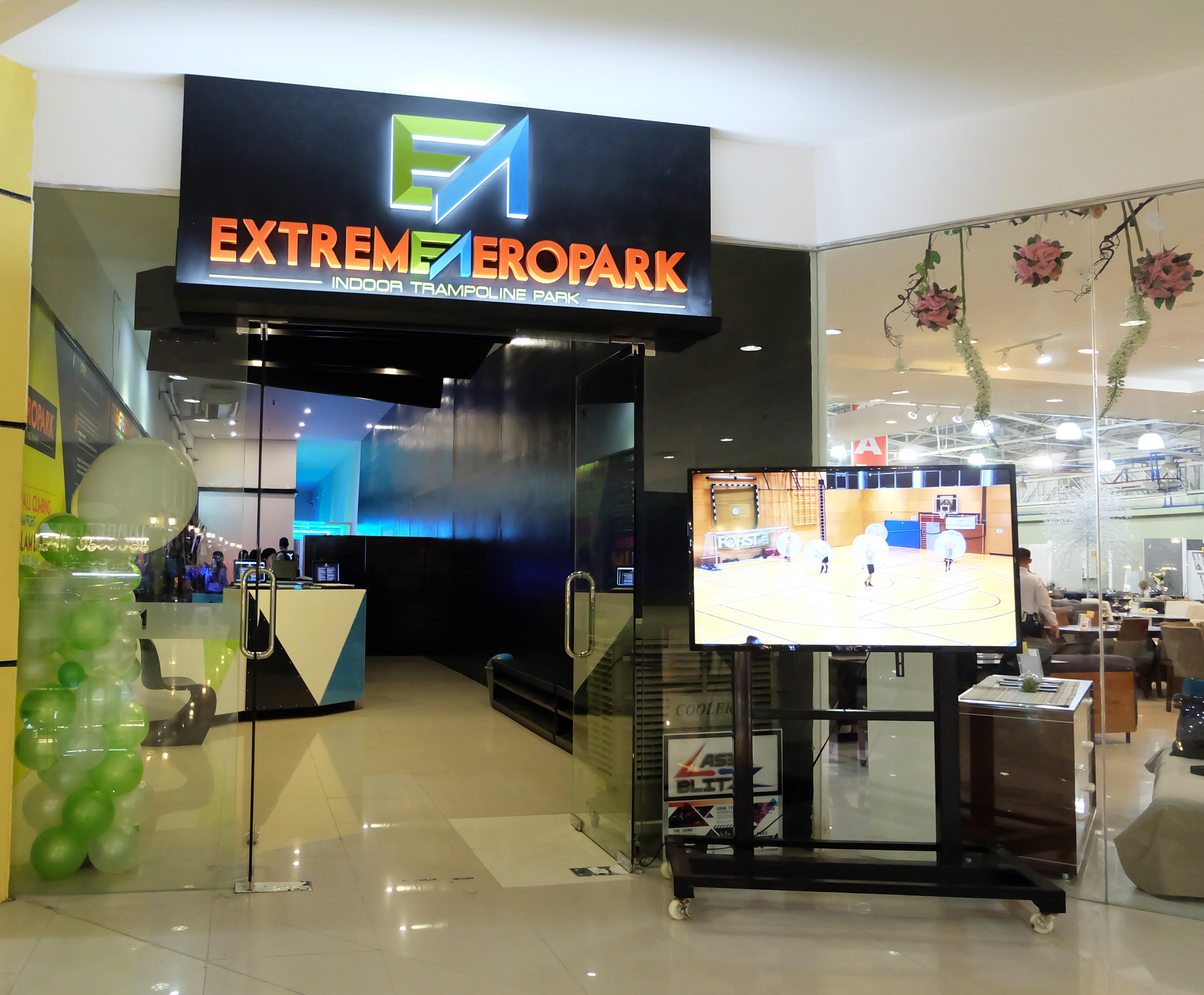 Extreme Aeropark Indoor Trampoline Park @ Parkmall, Cebu