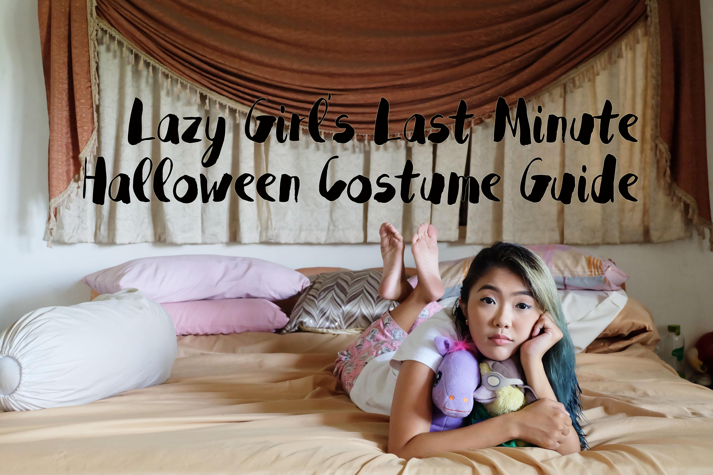 Easy Last Minute Halloween Costume Ideas