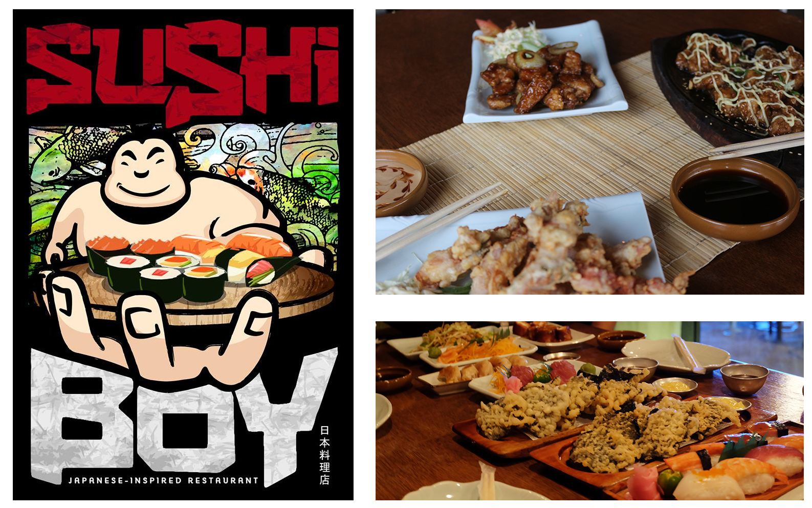 Sushi Boy Introduces New Japanese- Filipino Inspired Items!