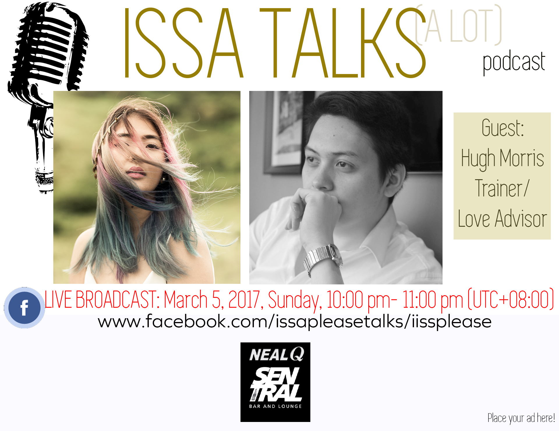 IssaTalks Ep. 3 with Hugh Morris: What You're Doing Wrong (Dating & Relationships)