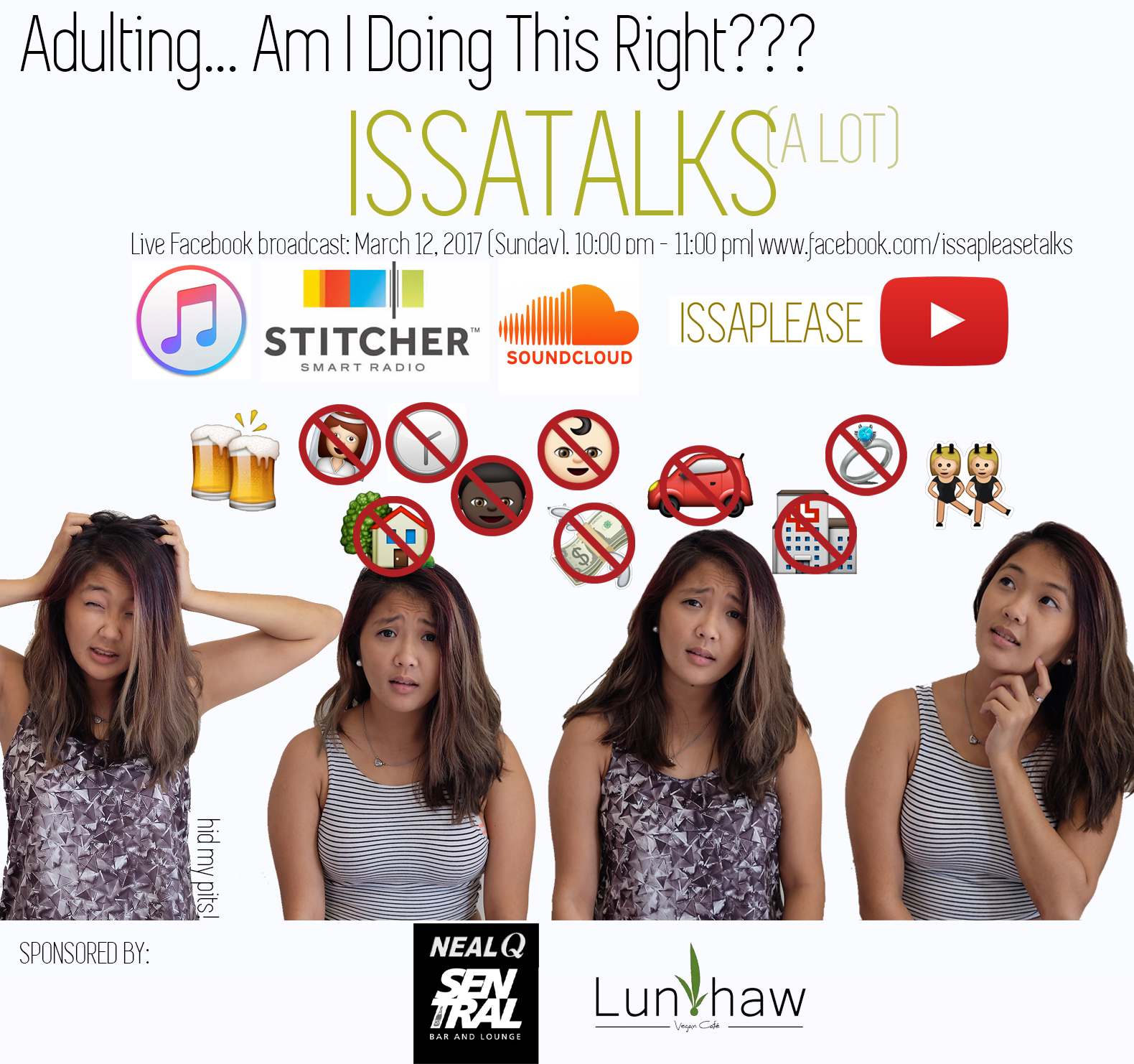 IssaTalks Episode 4: Adulting… Am I Doing This Right?