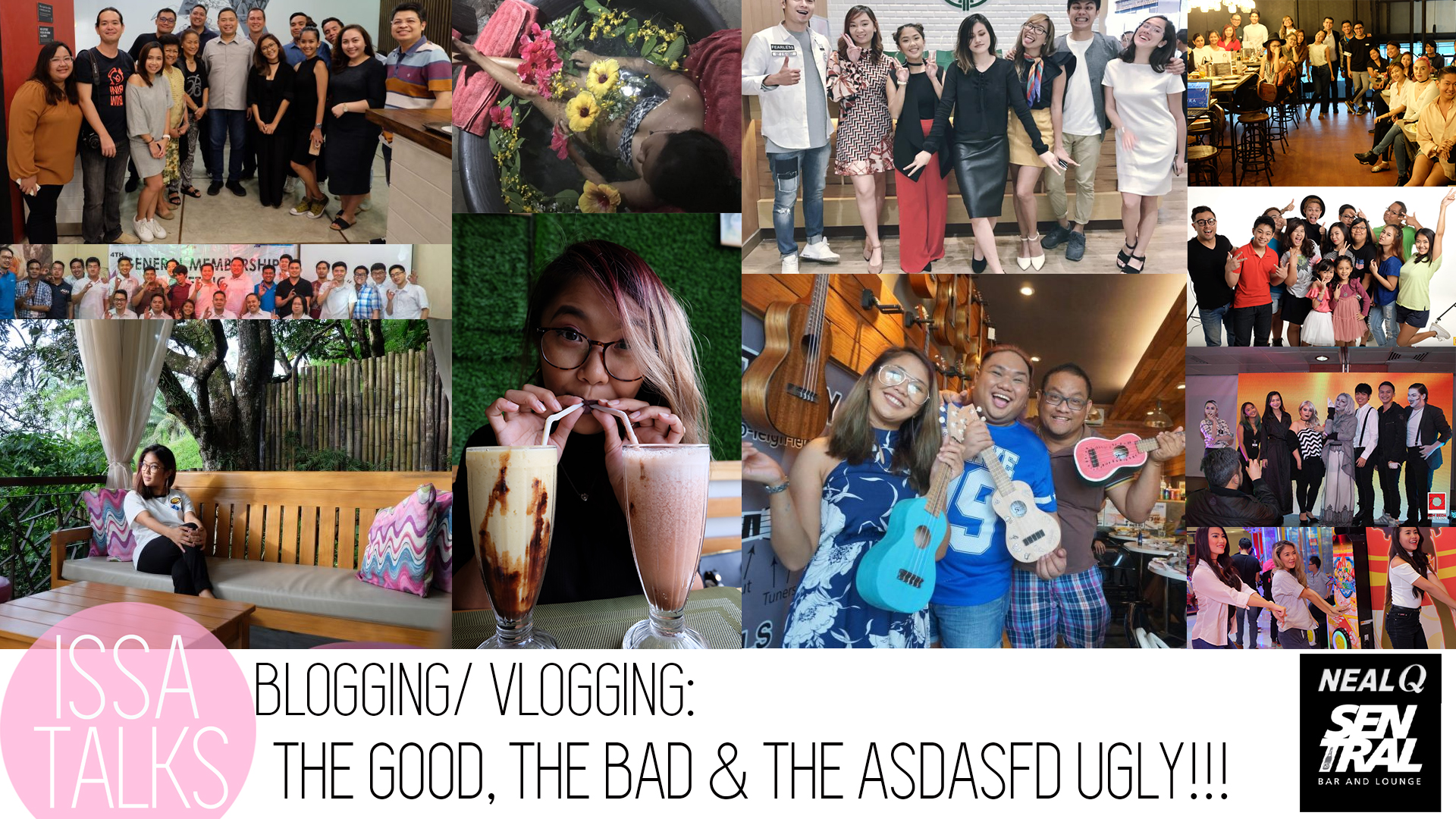 [VLOG] IssaTalks Episodes 6 & 7: The Truth About Blogging/ Vlogging/ Social Media Content Creation