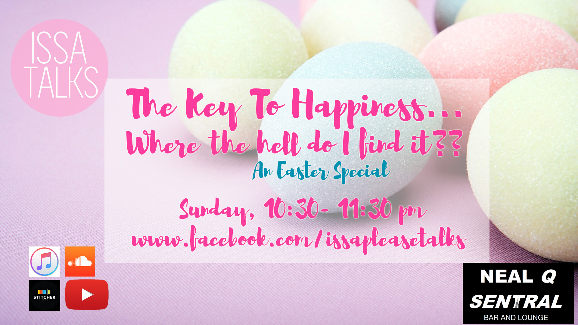 IssaTalks Ep 9: Finding The Key To Happiness…