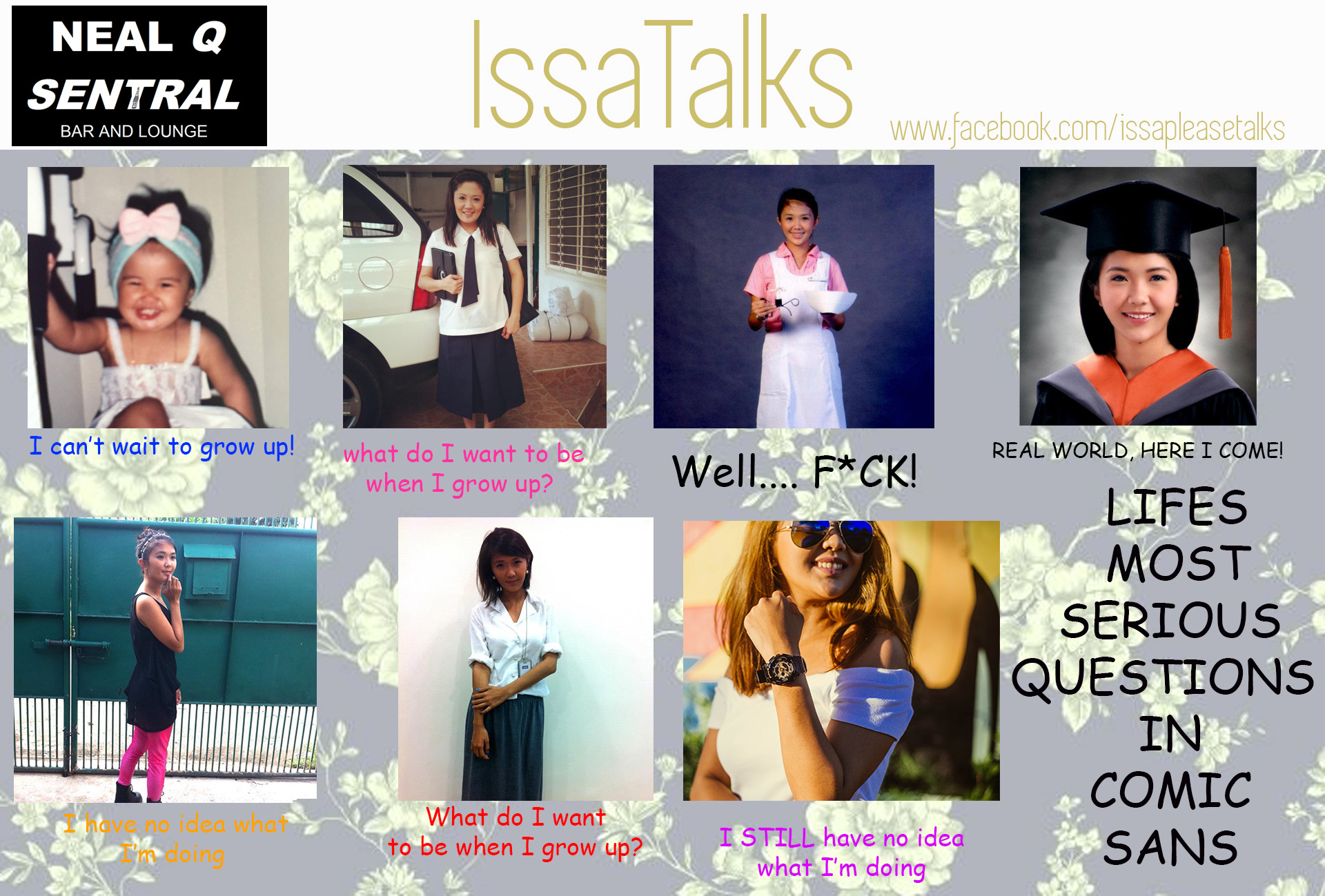 [PODCAST]  IssaTalks Ep 12: What Do I Wanna Be When I Grow Up & Other Mildly Depressing Questions In Life