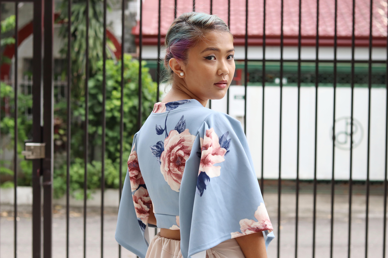 #ATEfied Kimono Wrap Top