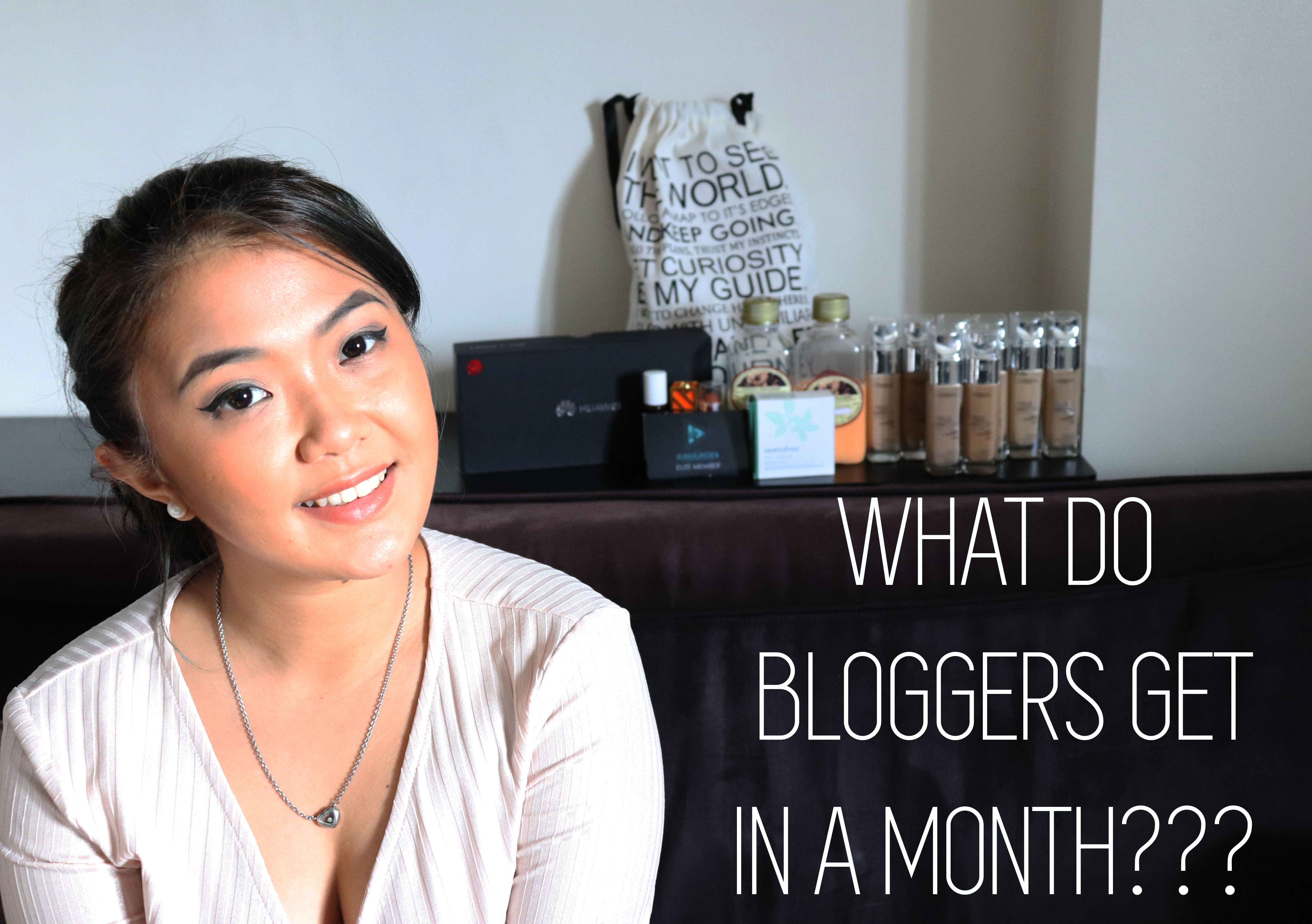 [VLOG] What Do Bloggers Get For Free In A Month + June Favorites