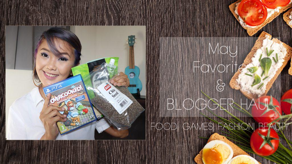 [VLOG] May Favorites & Blogger/ Vlogger Haul- Food, Health