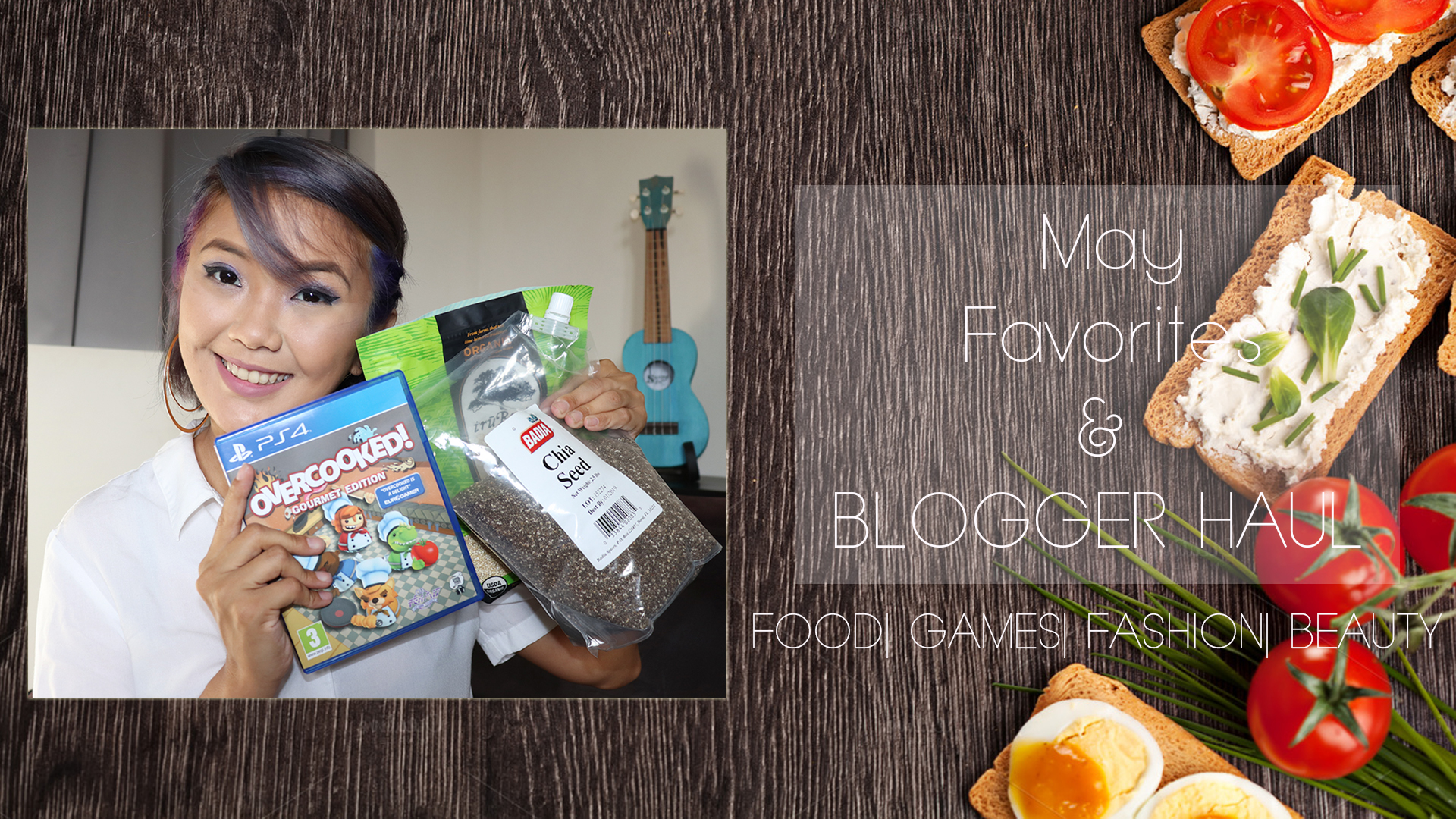 [VLOG] May Favorites & Blogger/ Vlogger Haul- Food, Health, Gaming, Beauty & Fashion