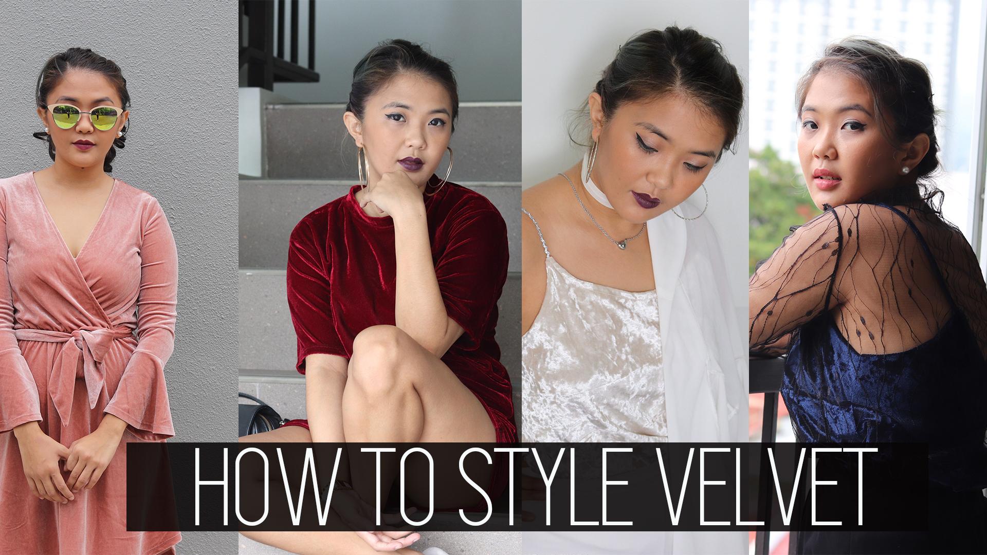 [VLOG] How To Style Velvet
