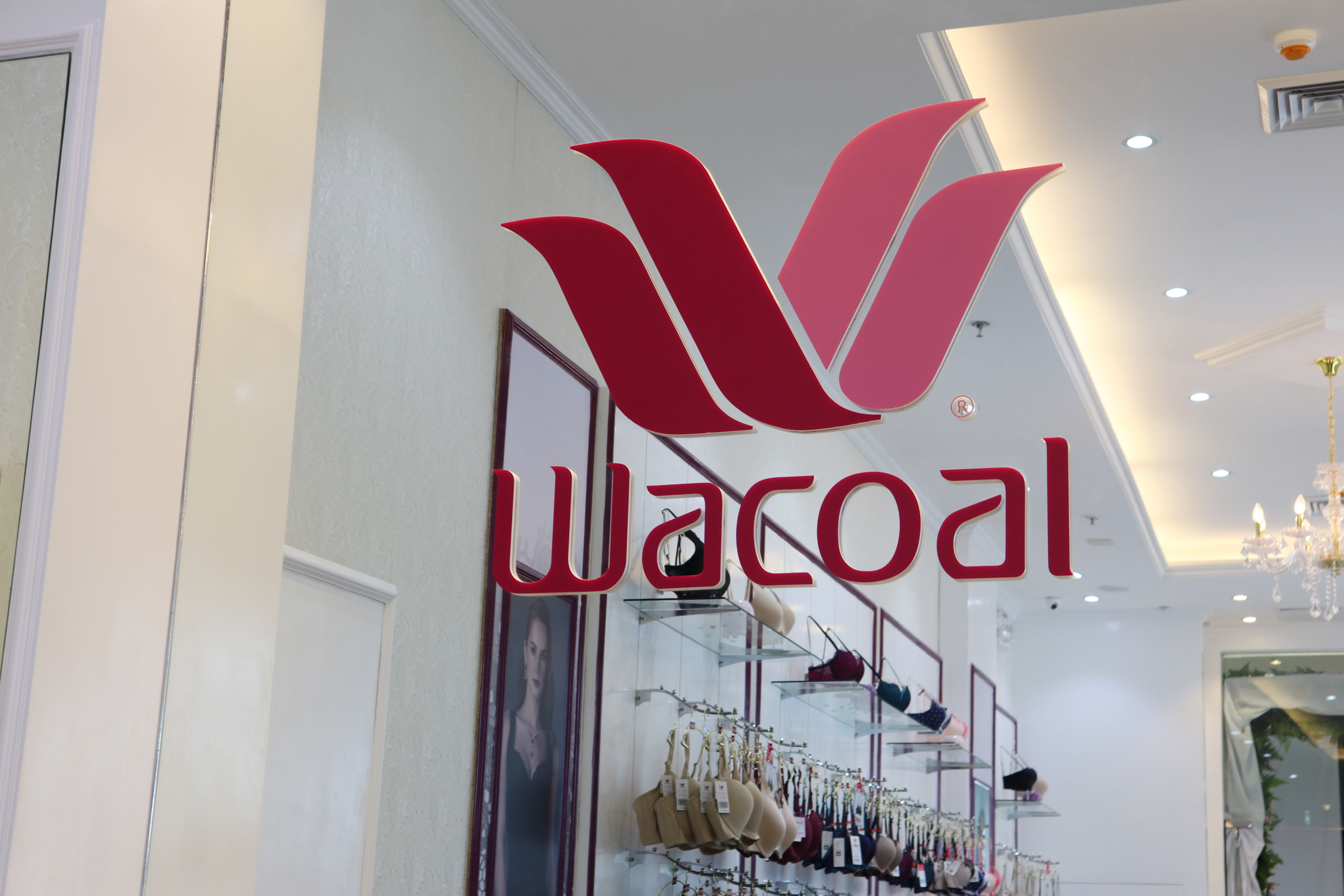 Wacoal Opens Their First Boutique At SM Seaside, Cebu