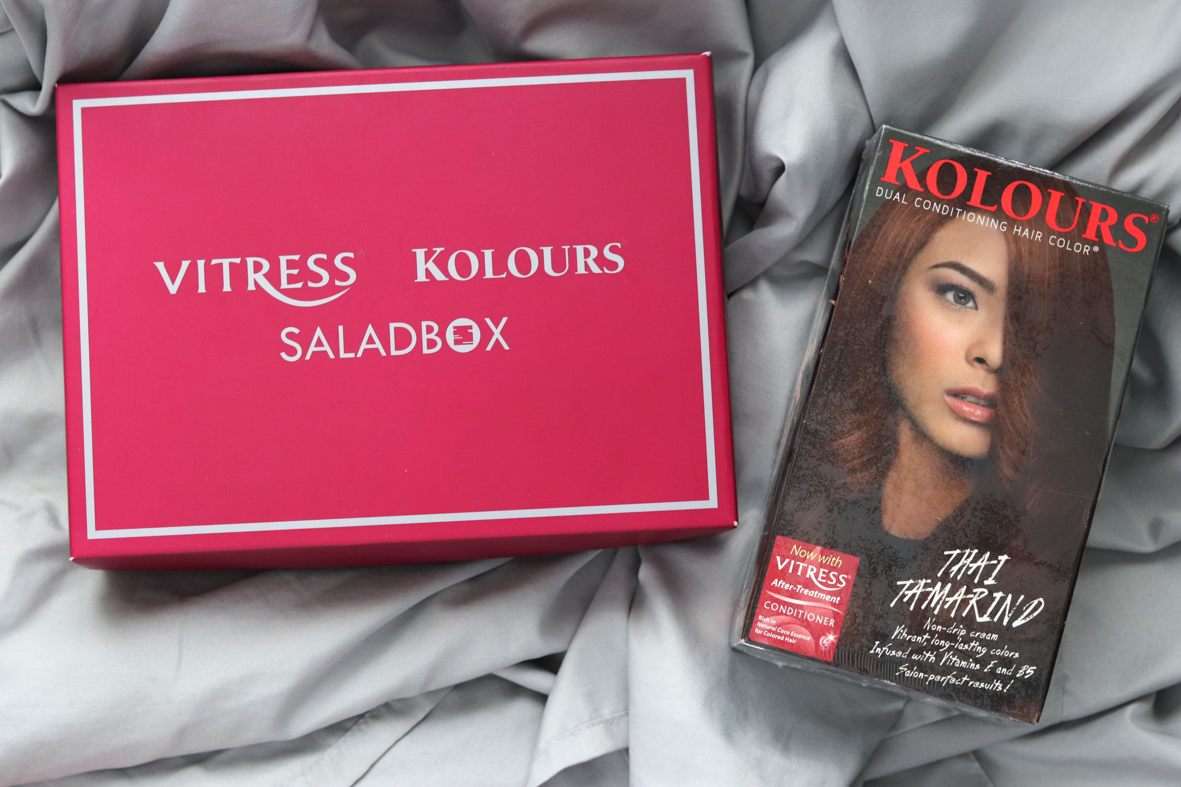 [VLOG] Saladbox Unboxing: First Impressions + What Happened To My Hair