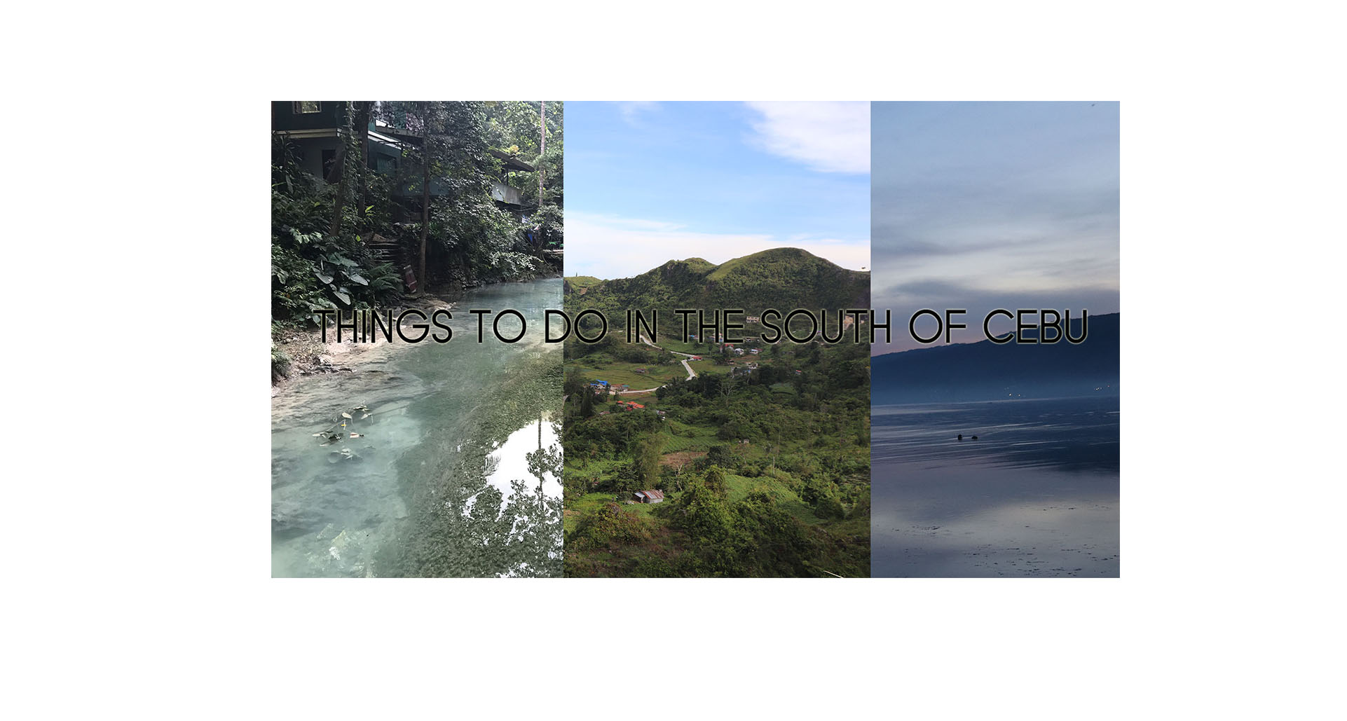 Things to do in the south if Cebu (Updated)- Best Activities/ Adventures, Sample Itinerary, Places To Eat/ Stay, Etc.