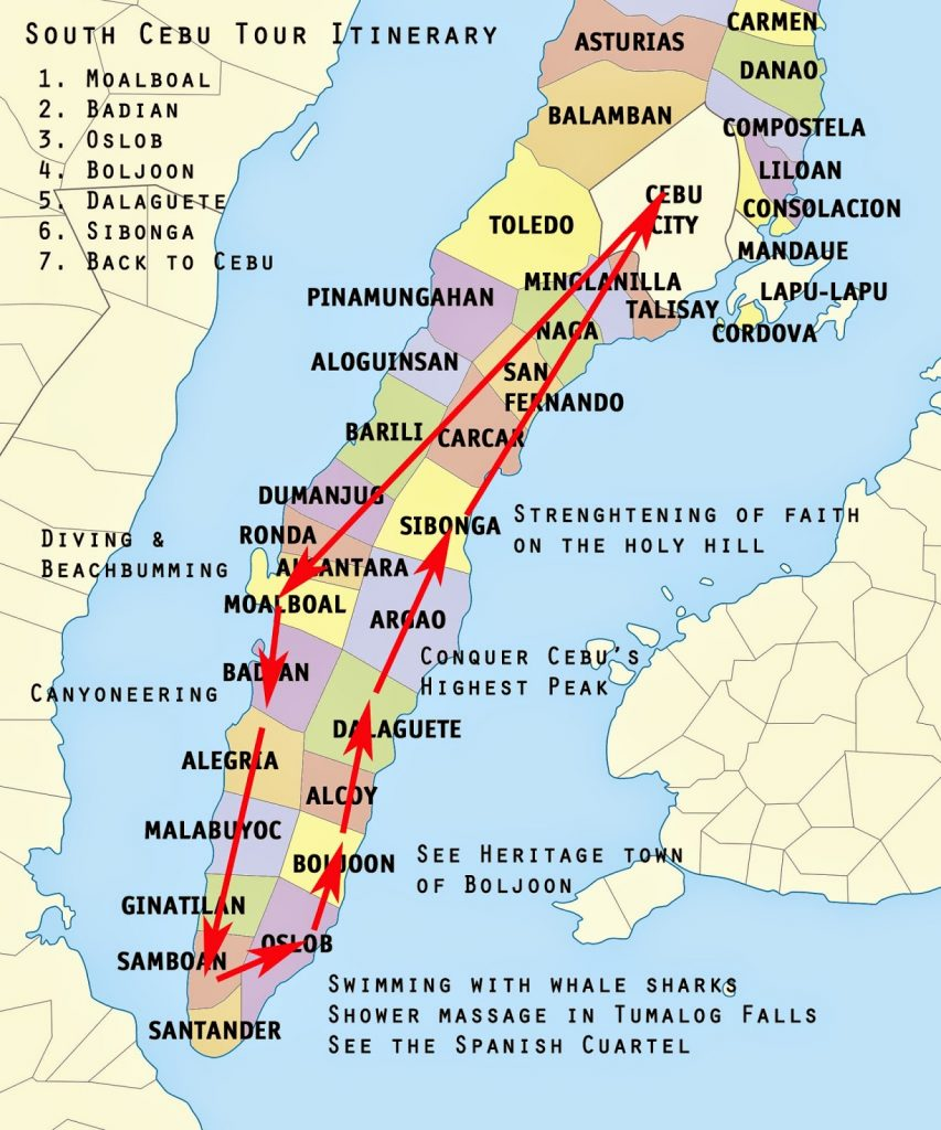 Things to do in the south if Cebu Updated Best Activities
