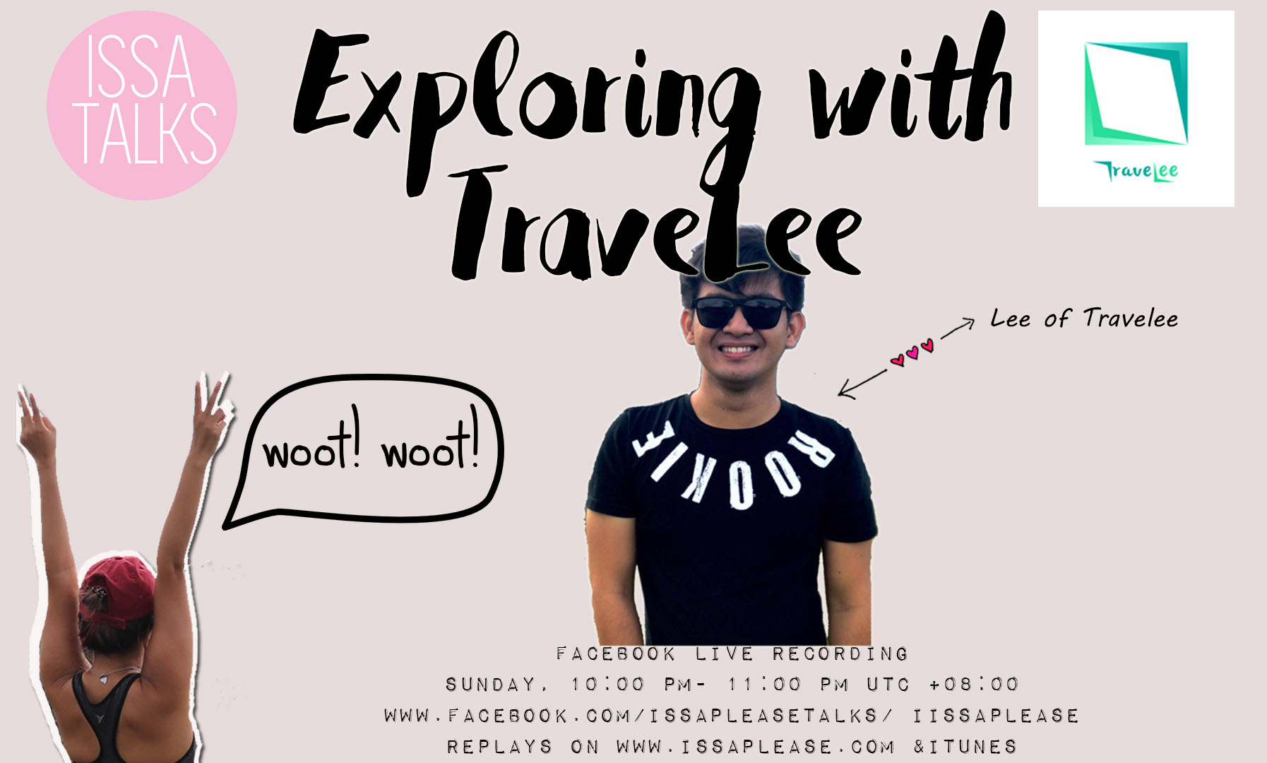 IssaTalks (Episode 28) with Travelee: Exploring Cebu & The Philippines