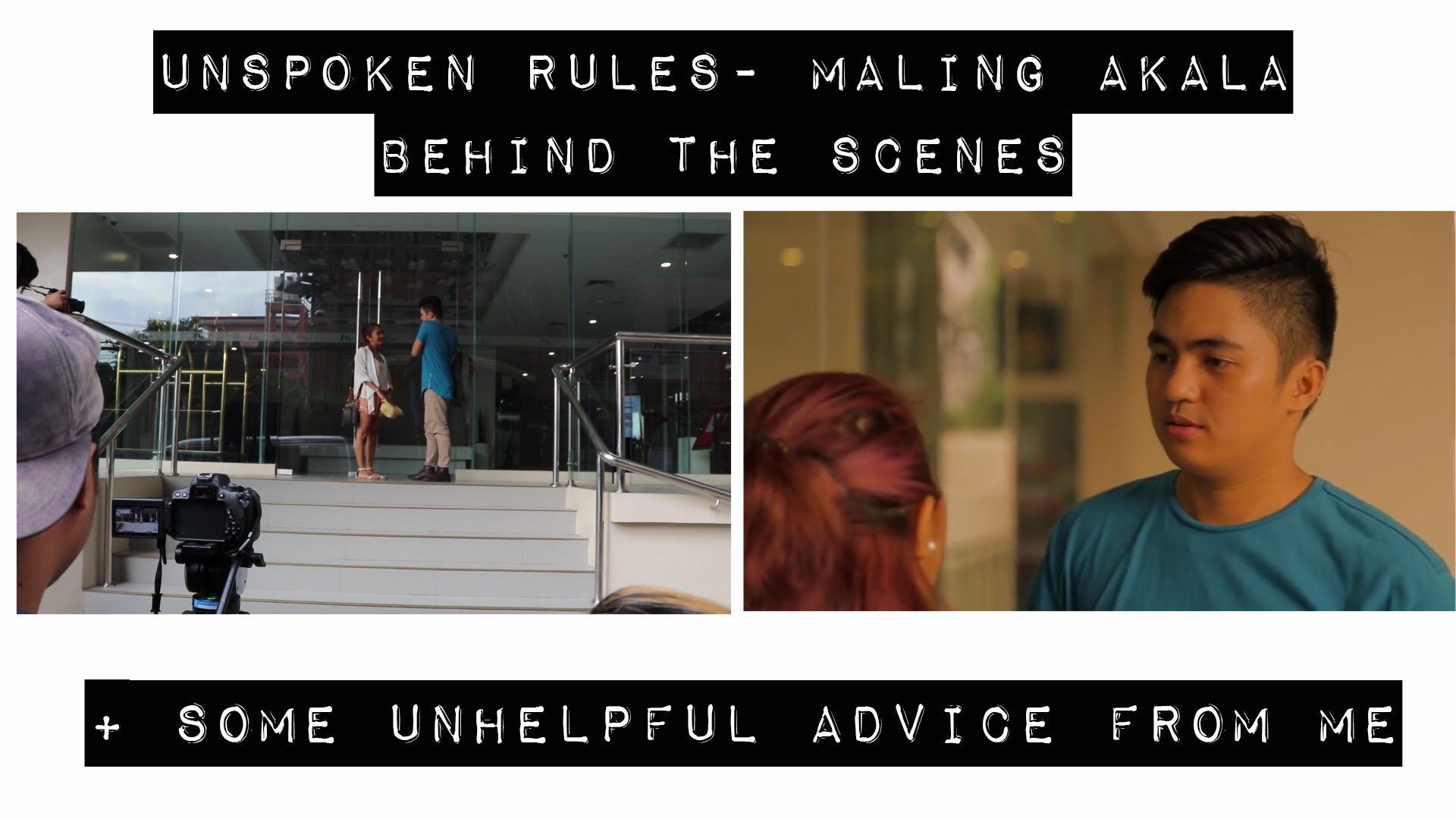 [VLOG] Unspoken Rules- Maling Akala BTS + Advice + Short Message