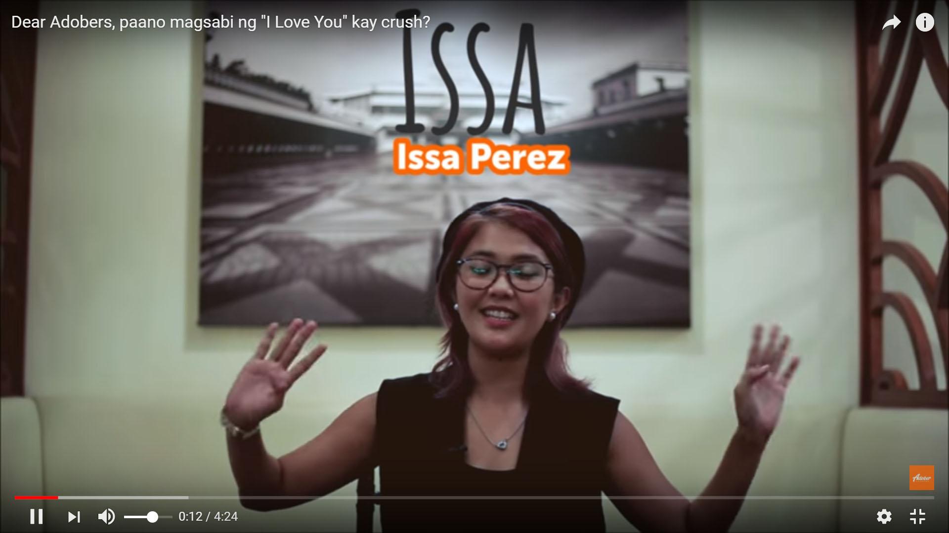 """[VLOG] Dear Adobers, Paano Magsabi Ng """"I Love You"""" Kay Crush"""