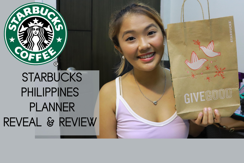 [VLOG] Starbucks Philippines 2018 Planner Reveal & Review