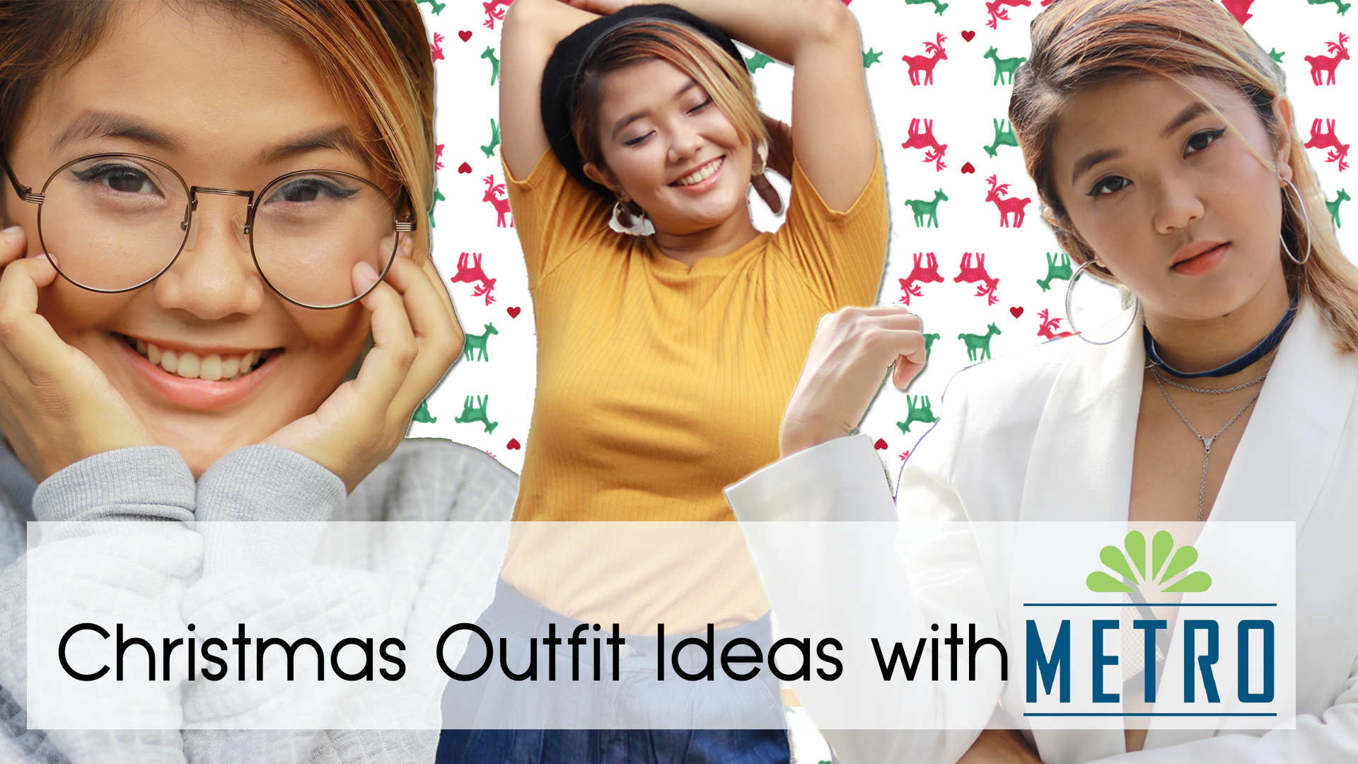 Christmas Outfit Ideas Lookbook ft. Metro Gaisano + December 2017 Sale Previews