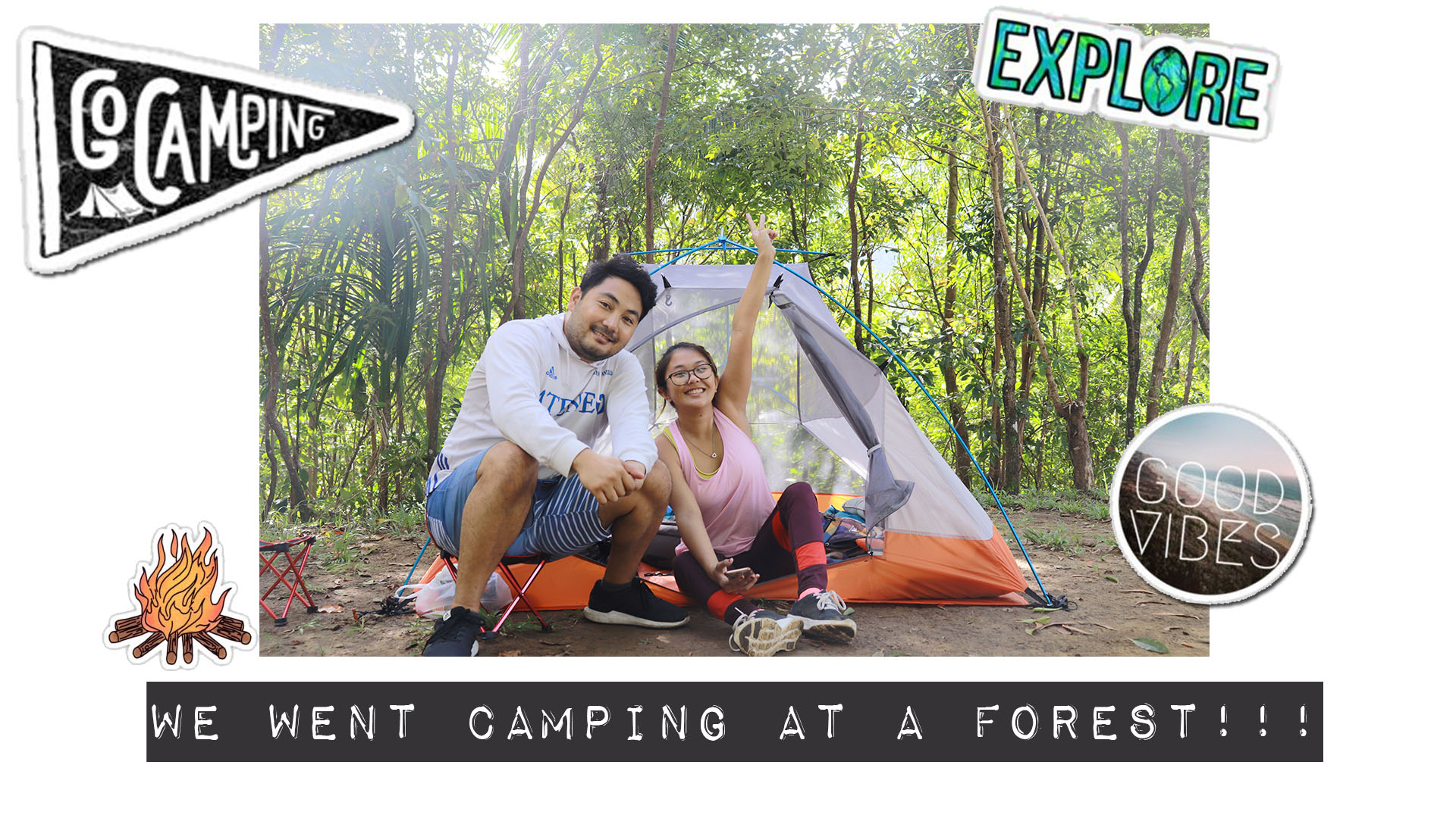 Camping at Foressa Mountain Town & Lazada Camping Equipment Haul