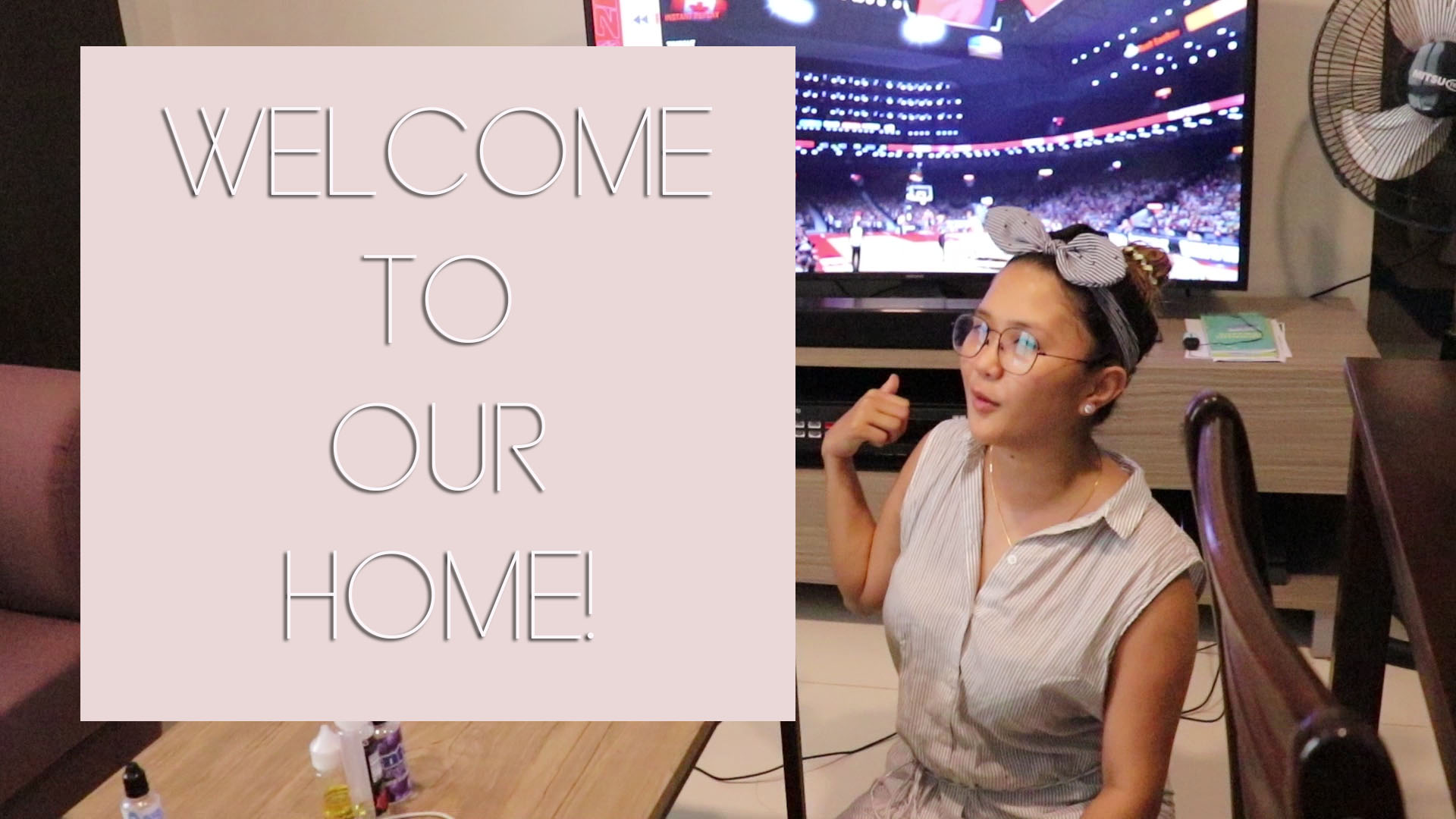 [VLOG] Welcome To Our Home Tour!