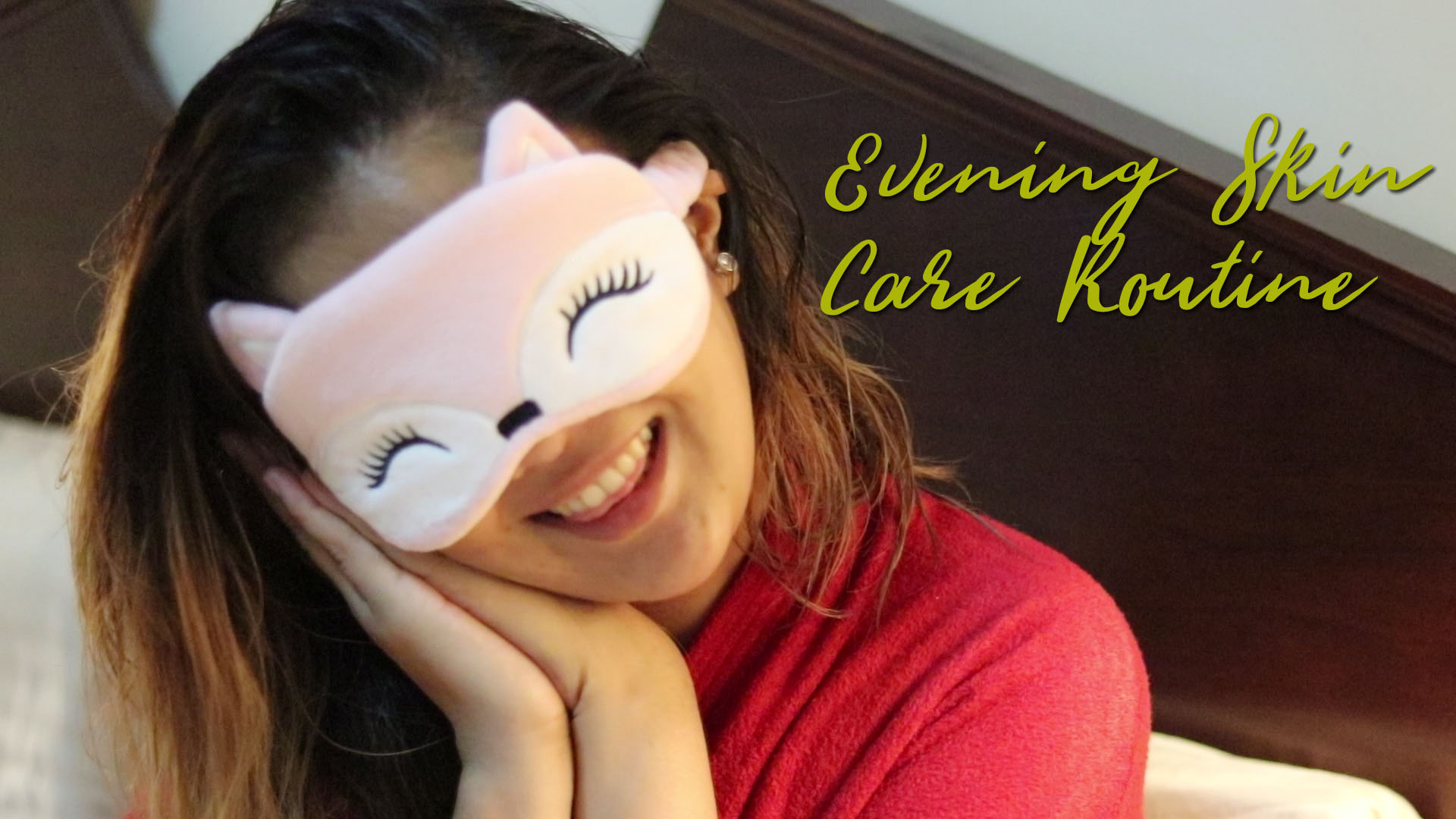Korean Evening Skin Care Routine