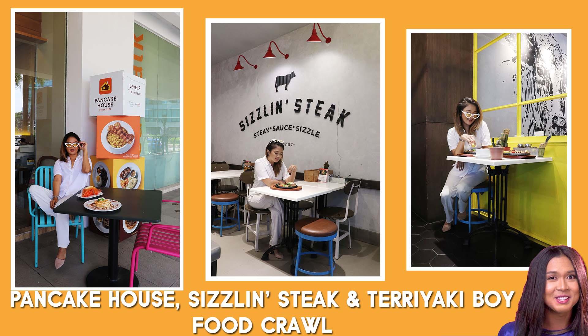 [Blog & Vlog] Exploring The Specialties of Pancake House, Sizzlin' Steak & Terriyaki Boy