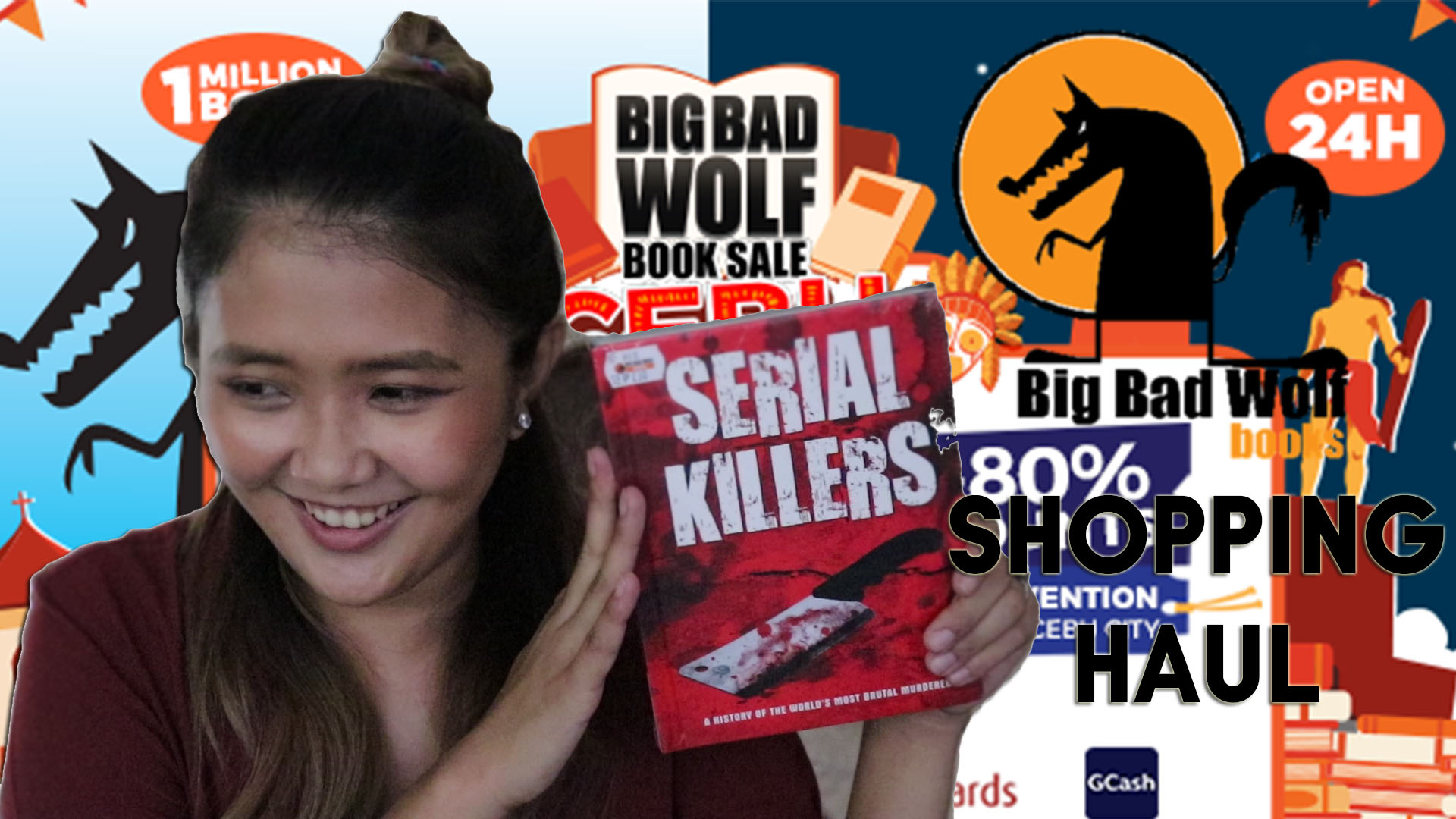 [Vlog] Major Book Haul: What I Got From Big Bad Wolf Books