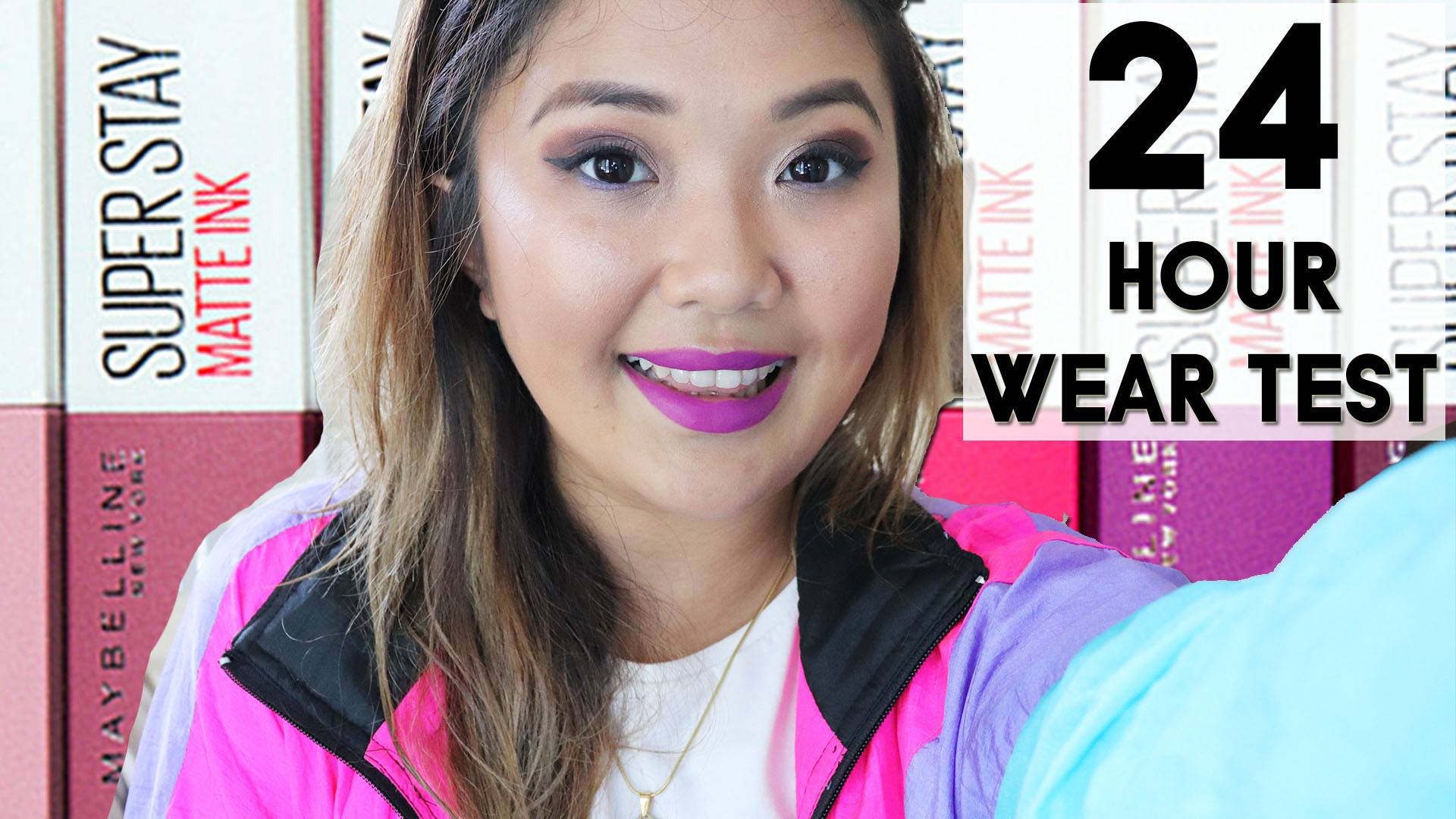 [VLOG] I Wore Maybelline's Superstay Matte Ink For 24 Hours!