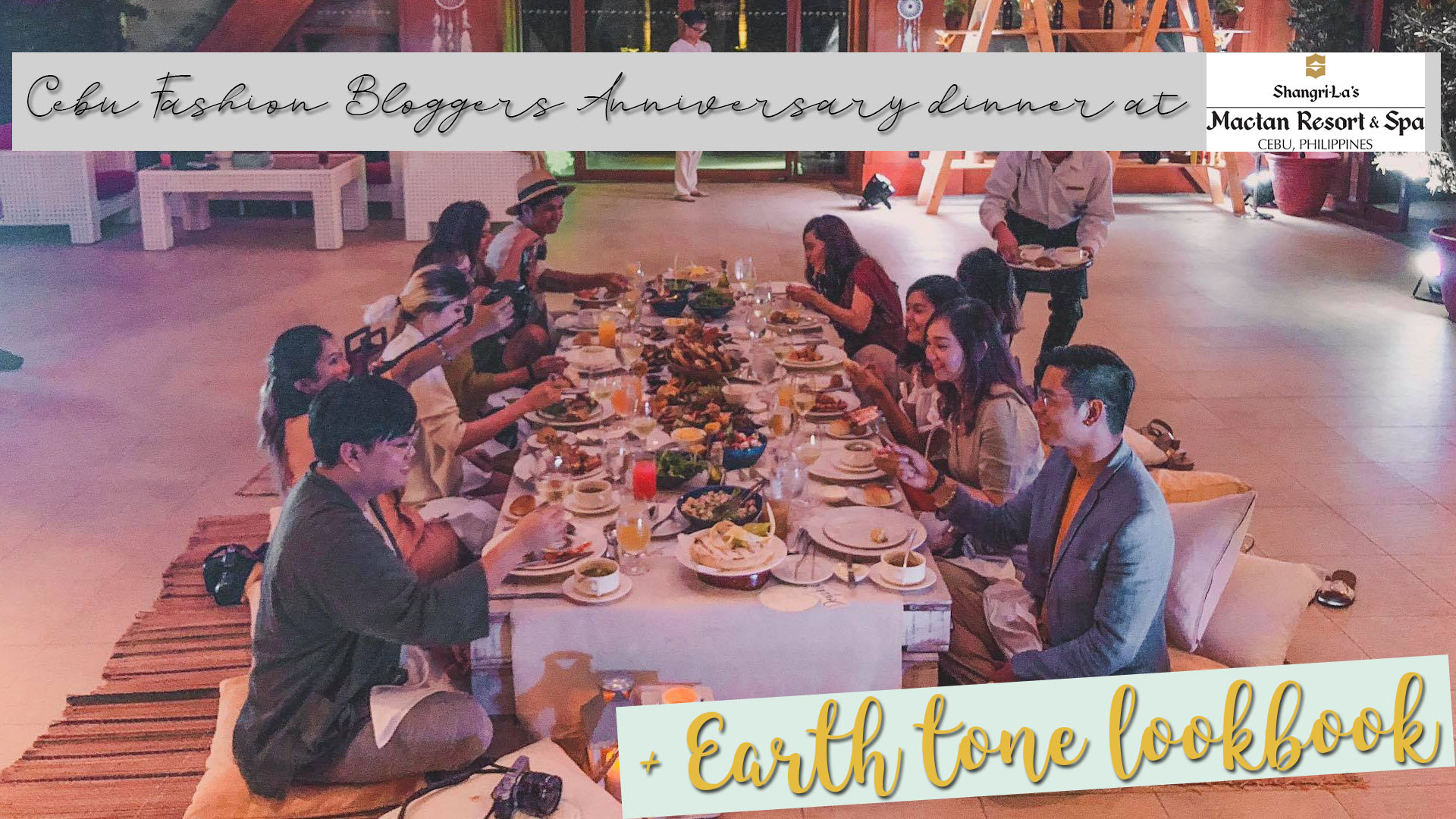 [Vlog] Earth Tone Lookbook- Cebu Fashion Bloggers' 9th Year Anniversary