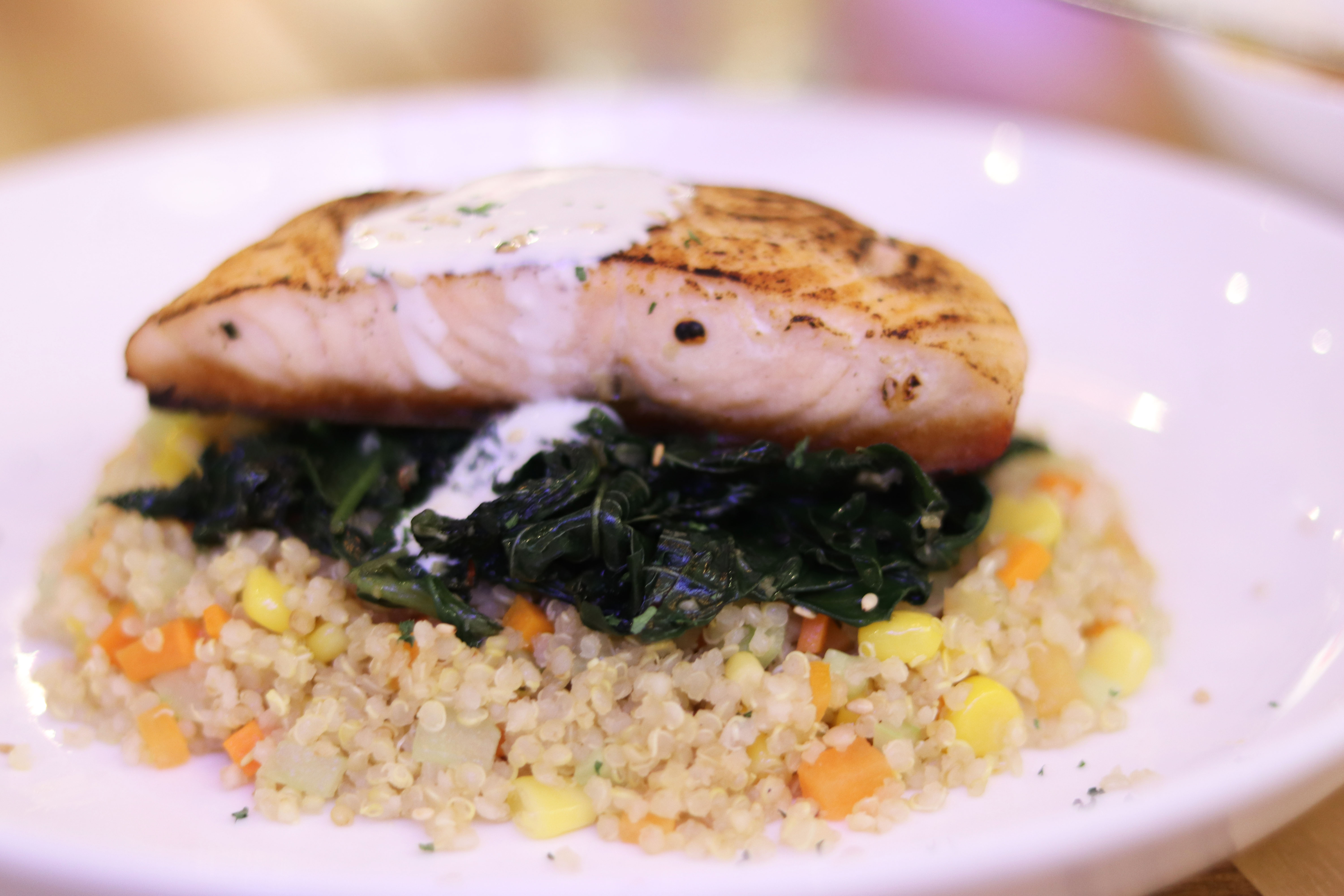 Healthy Meal Options at Tazza Cafe