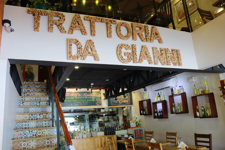 Italian Dining in Cebu: Trattoria Da Gianni, Crossroads