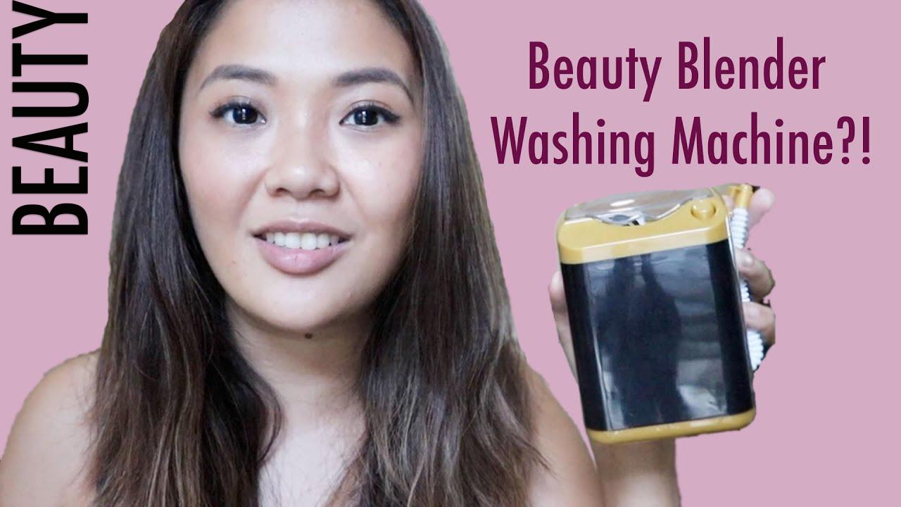 [VLOG] Washing Machine Beauty Blender Cleaner?!