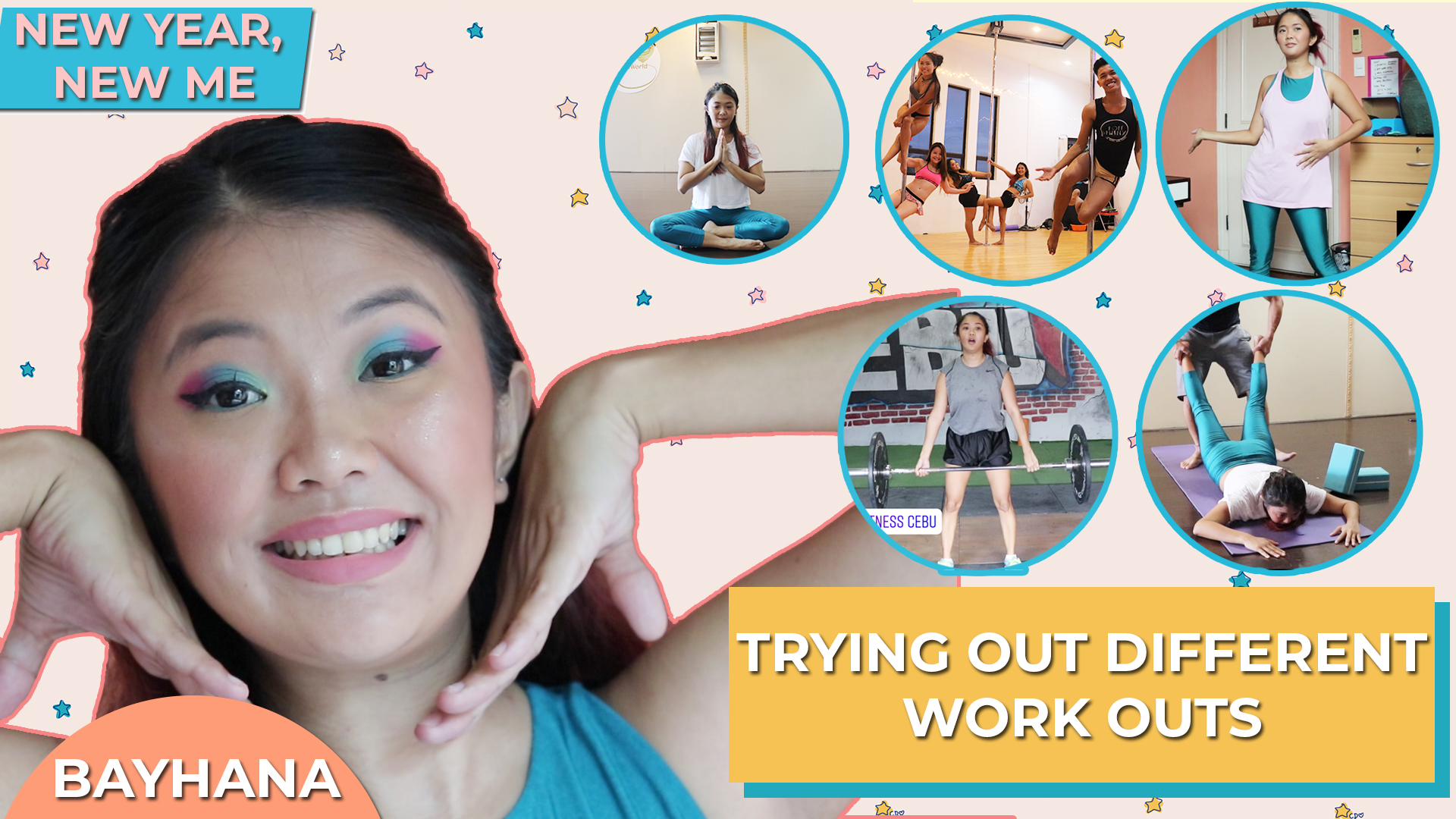 Bayhana| Trying Out Different Work Outs